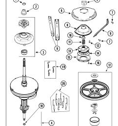 maytag mav4757aww transmission diagram [ 1763 x 2100 Pixel ]