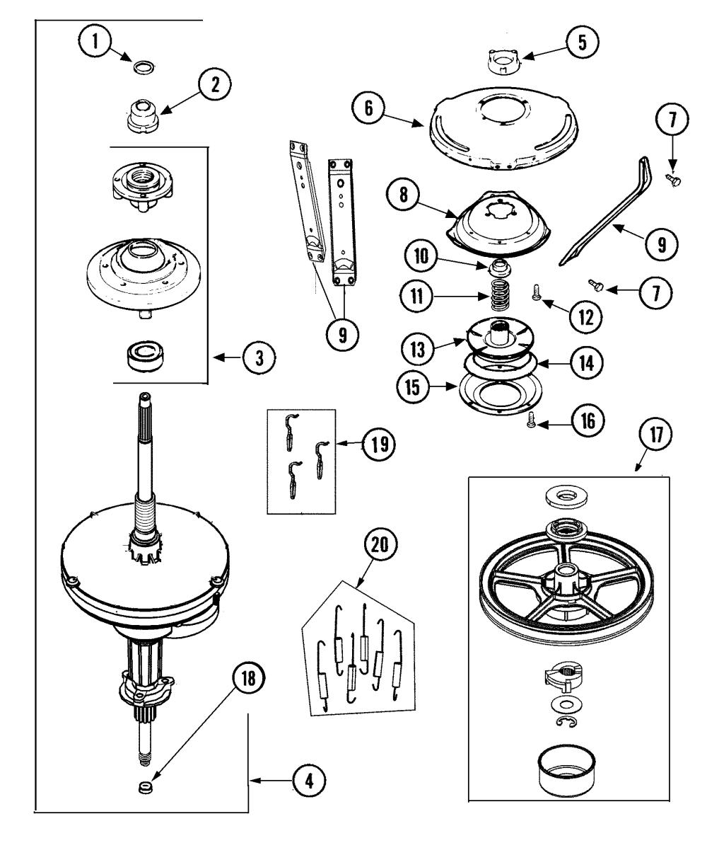 medium resolution of maytag mav4757aww transmission diagram