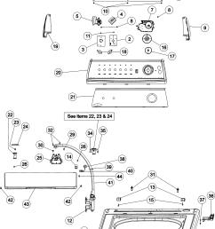 looking for amana model nav2335aww washer repair u0026 replacement parts amana nav2335aww control panel [ 3941 x 5090 Pixel ]