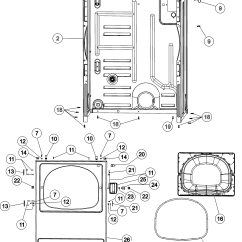 Clothes Dryer Wiring Diagram 4l80e Transmission Parts Admiral Laundry Model Ade7005ayw Sears
