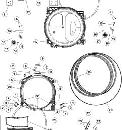 admiral adg7005aww tumbler diagram [ 3706 x 5145 Pixel ]
