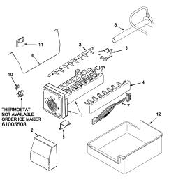 maytag pbf1951kew ice maker diagram [ 2009 x 2021 Pixel ]