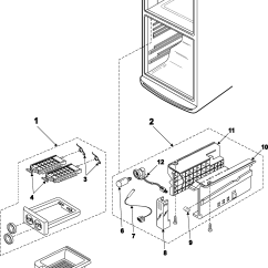 Ge Refrigerator Wiring Diagram Problem 1998 Ford Taurus Engine Install Toyskids Co Samsung Ice Maker Schematic Kenmore Circuit