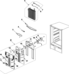 samsung rb195bsbb xaa 00 refrigerator compartment diagram [ 2225 x 2272 Pixel ]
