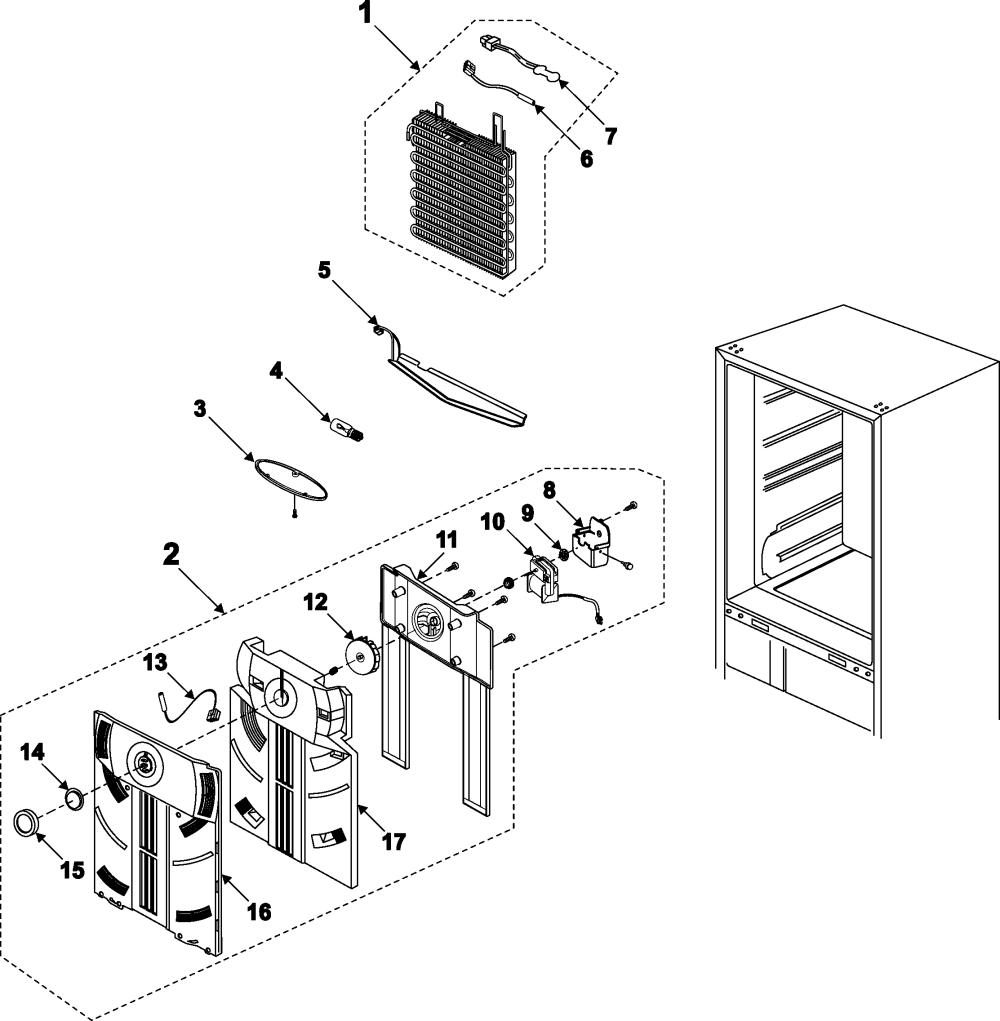 medium resolution of samsung rb195bsbb xaa 00 refrigerator compartment diagram