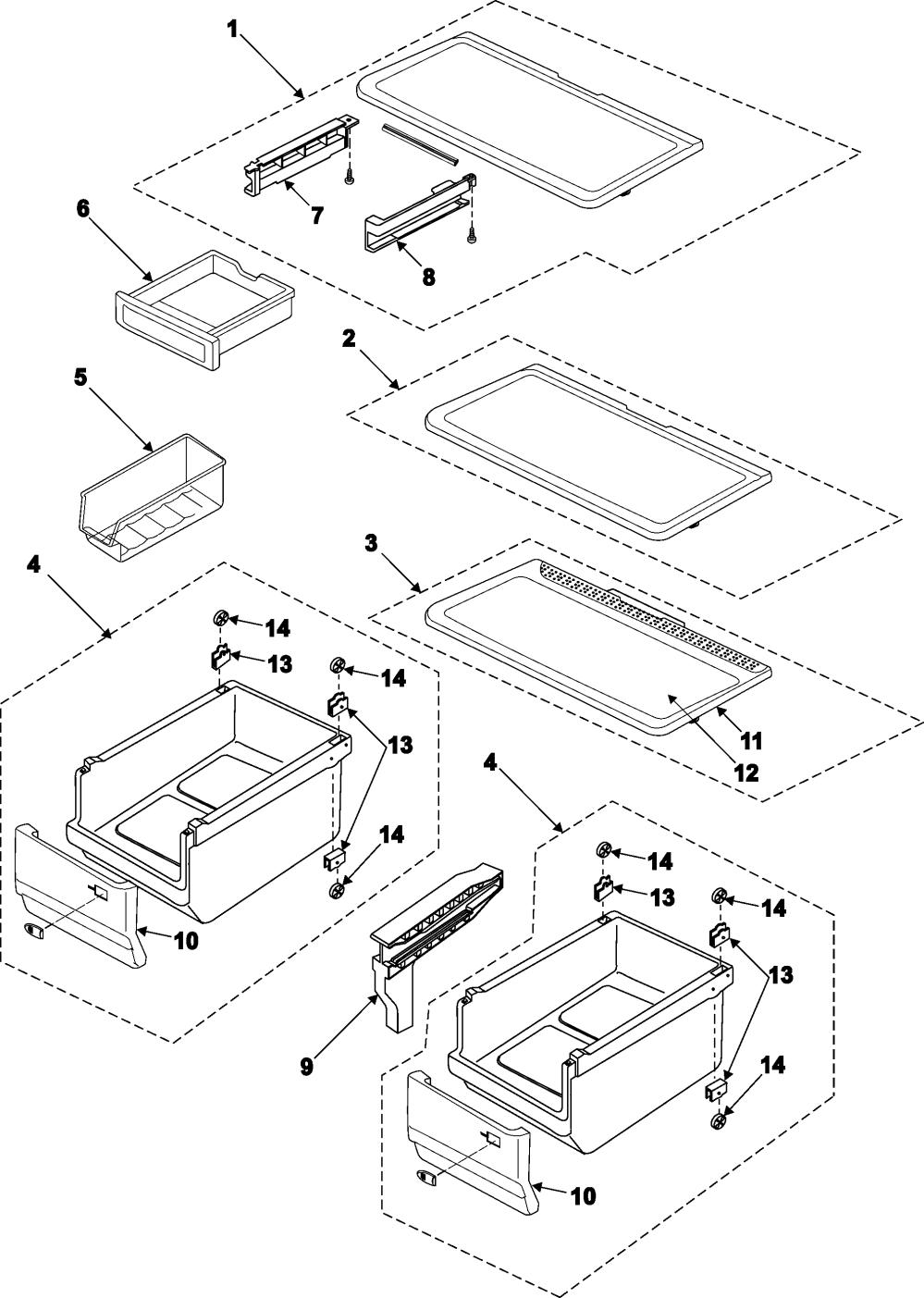 medium resolution of samsung rb195bsbb xaa 00 refrigerator shelves diagram