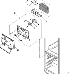 samsung rb195bsbb xaa 00 freezer compartment diagram [ 2146 x 2627 Pixel ]
