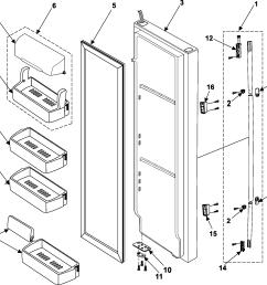 samsung rs253baww refrigerator wiring diagram [ 1939 x 1883 Pixel ]