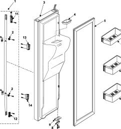 samsung rs253baww xaa freezer door diagram [ 2060 x 2001 Pixel ]