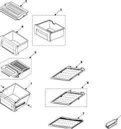 samsung rs253baww xaa refrigerator shelves diagram [ 2167 x 2240 Pixel ]