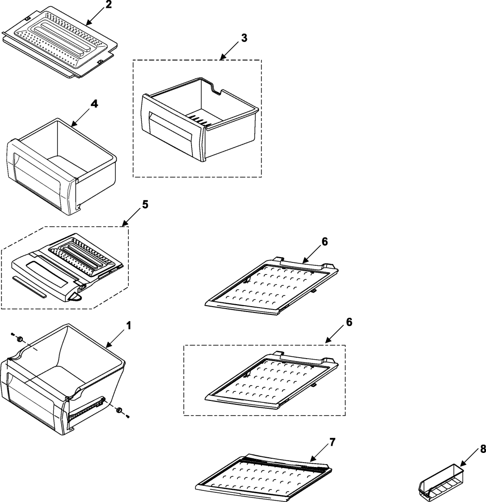 medium resolution of samsung rs253baww xaa refrigerator shelves diagram
