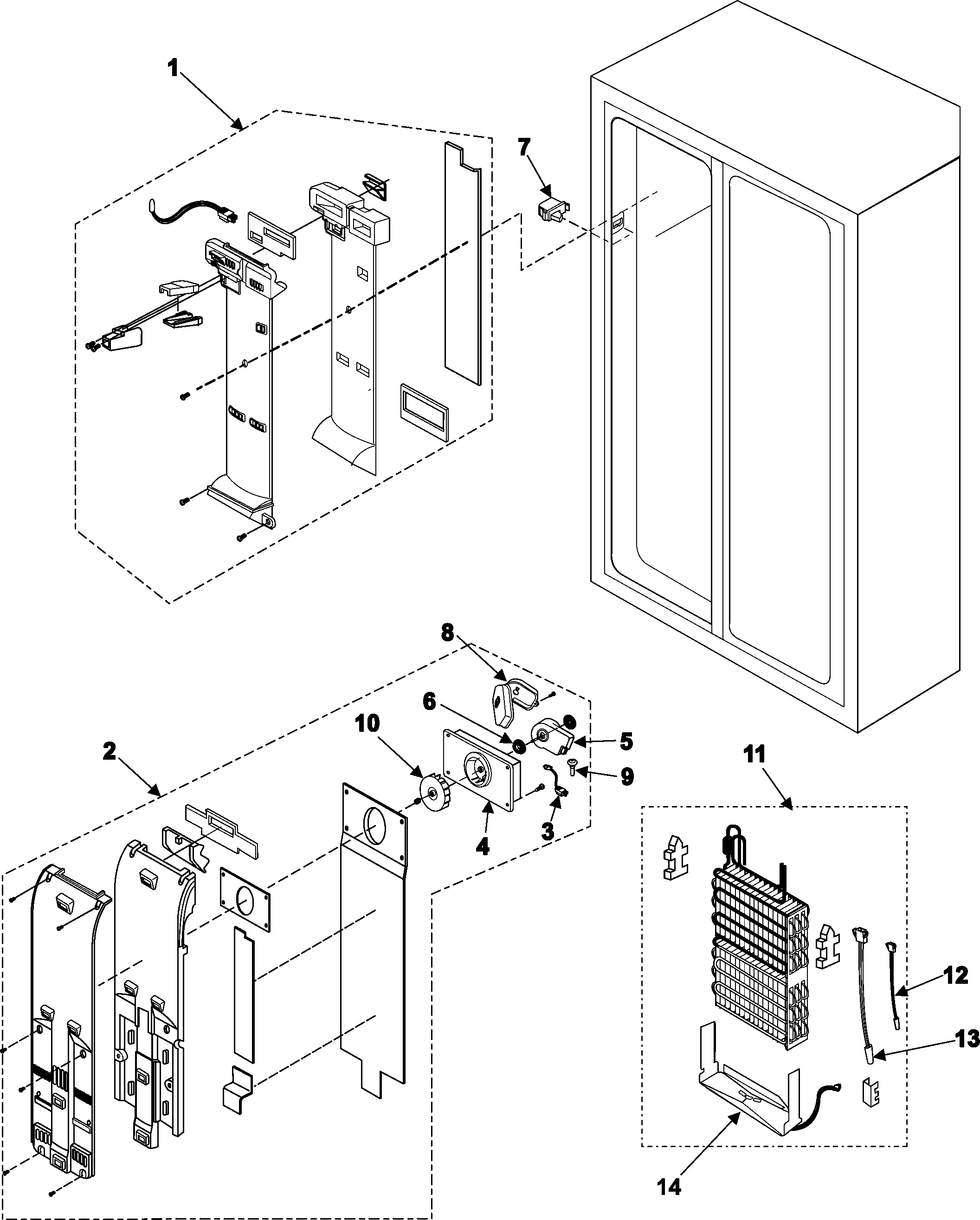 related with samsung rf197acrs refrigerator wiring diagrams