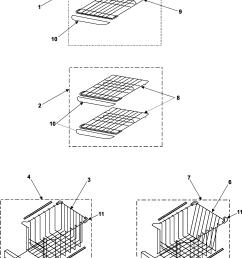 samsung rs253baww xaa freezer shelves diagram [ 2138 x 2882 Pixel ]