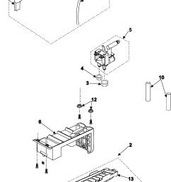 samsung rs253baww xaa ice maker diagram [ 1742 x 3042 Pixel ]