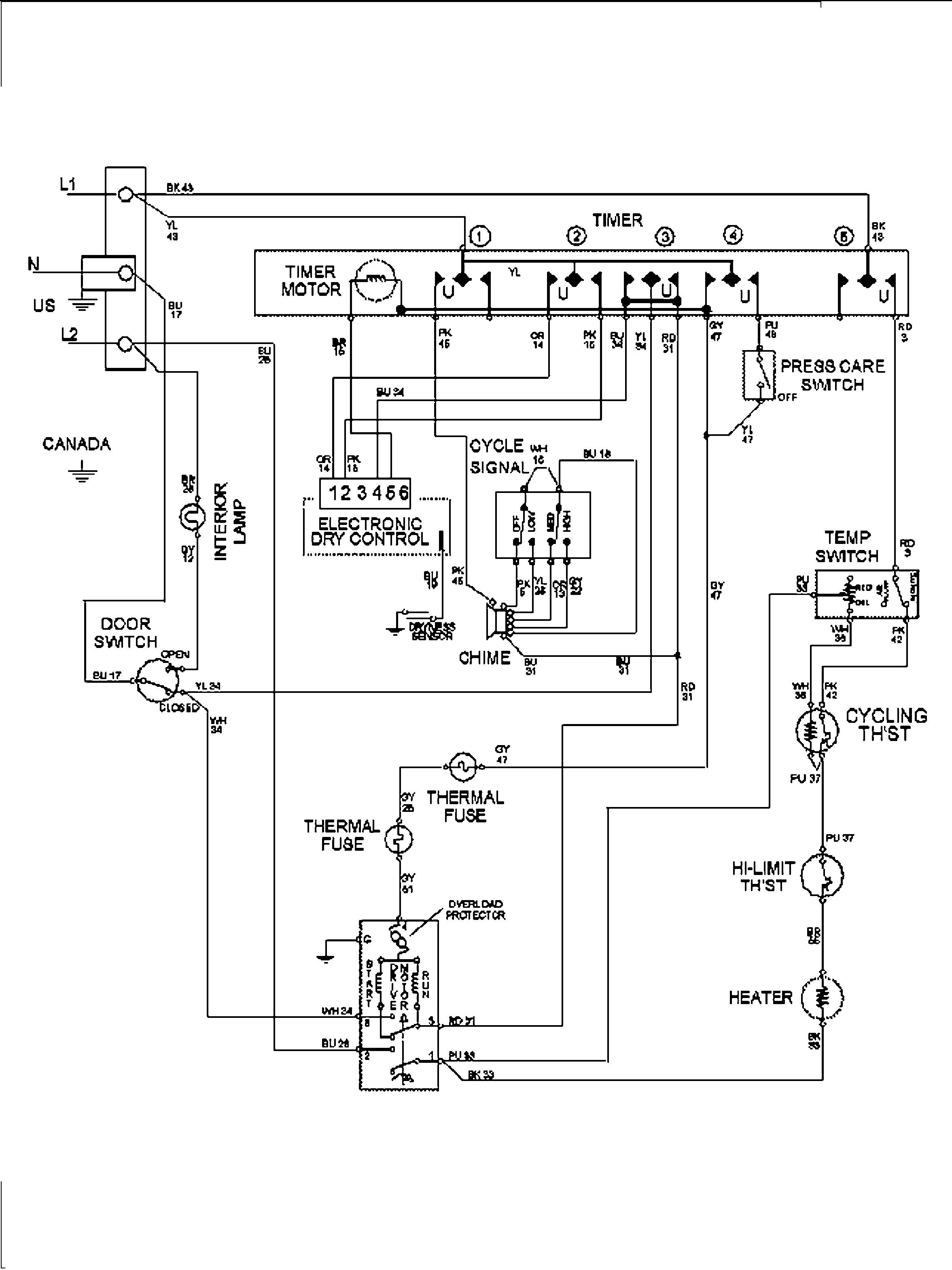 maytag dryer wiring diagram schema diagram database maytag dryer wiring schematic maytag dryer electrical schematic [ 2353 x 3138 Pixel ]