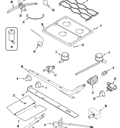 magic chef magic chef rv range parts model cly1620bdb sears rv stove diagram [ 2037 x 2445 Pixel ]
