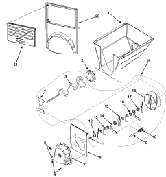 amana acd2234hrw ice bucket assy diagram [ 2321 x 3145 Pixel ]
