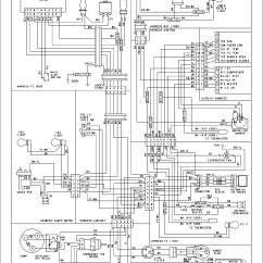 Wiring Diagram Of Refrigerator Animal Respiration Simple Amana