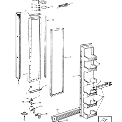 Jenn Air Refrigerator Parts Diagram Hornby Dcc Decoder Wiring Freezer Door And List For Model Jrs2237n08a