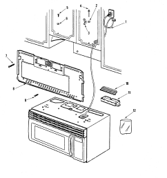 maytag model mmv5156aab microwave hood combo genuine parts rh searspartsdirect com maytag oven wiring diagram maytag washer wiring diagram [ 2394 x 2373 Pixel ]