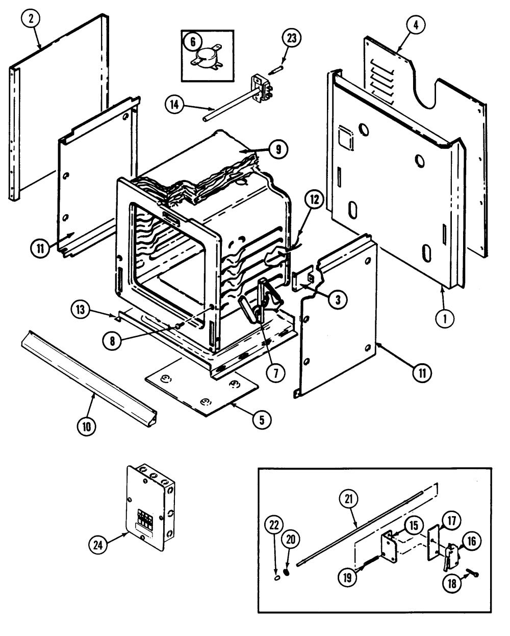 medium resolution of jenn air w131b body diagram