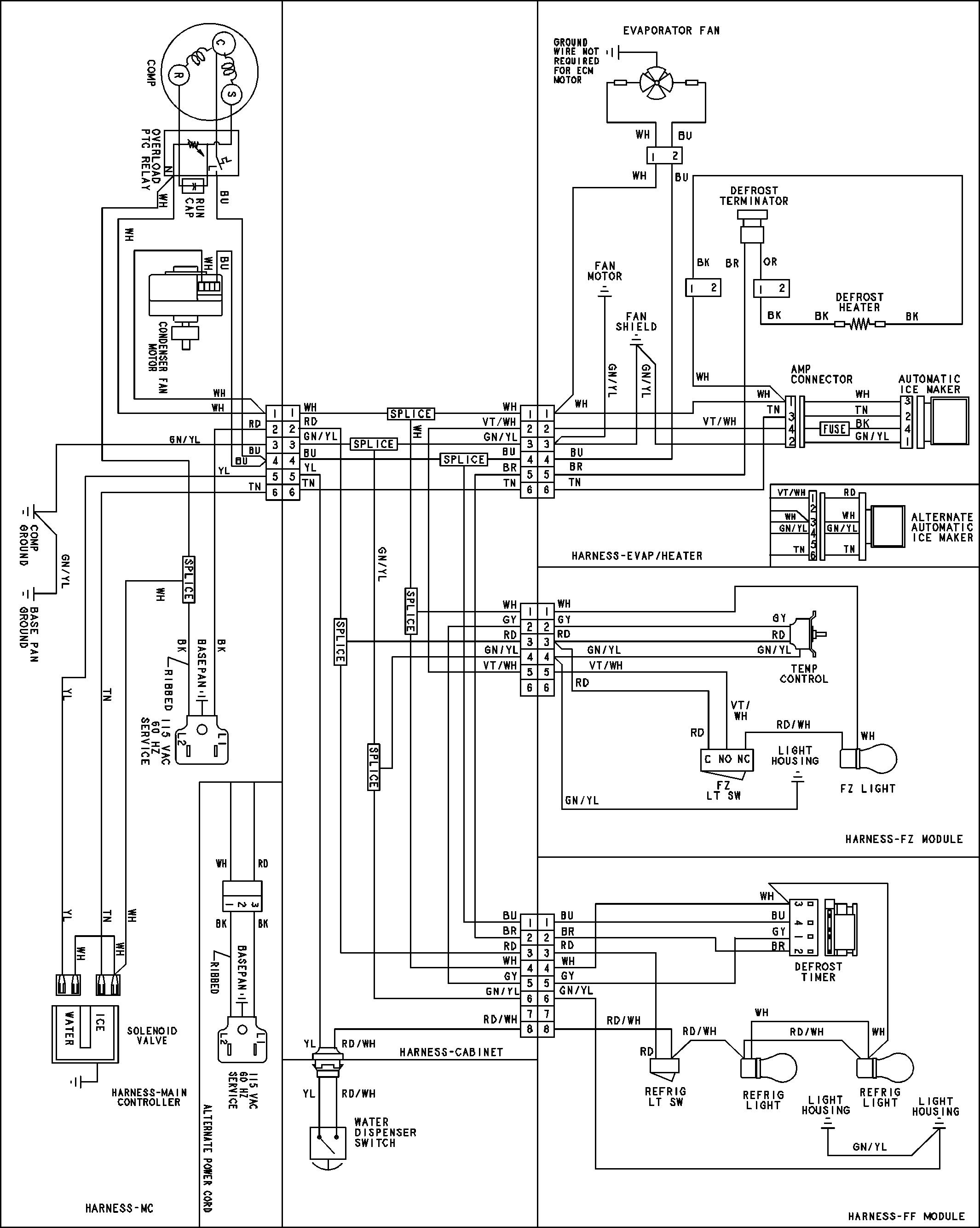 Refrigeration: Wiring Refrigeration Compressor