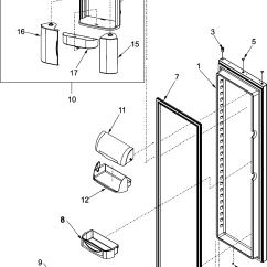 Jenn Air Refrigerator Parts Diagram 97 S10 Headlight Wiring Refrigeration Model Jcd2290hes
