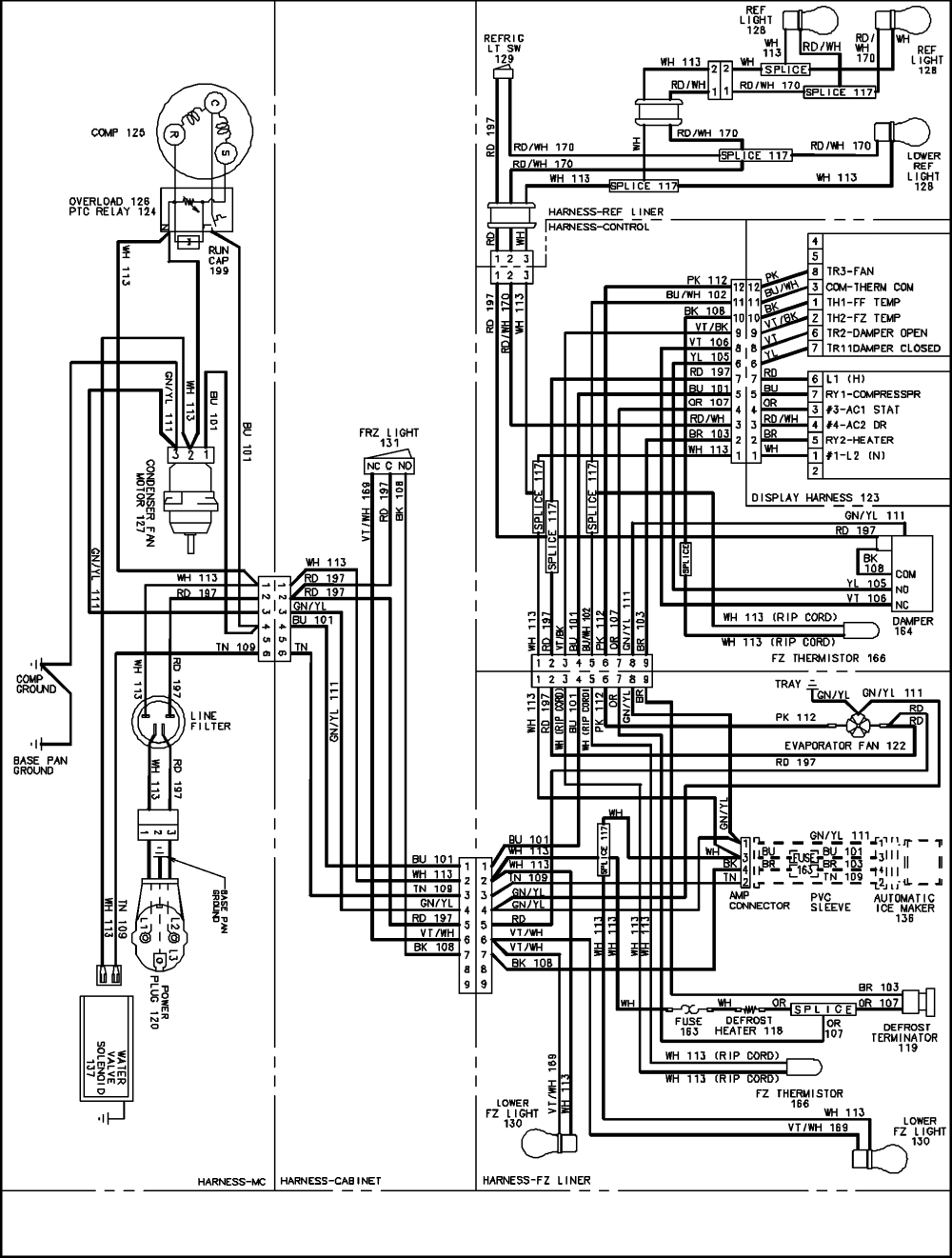 medium resolution of maytag refrigerator compressor wiring diagram images gallery