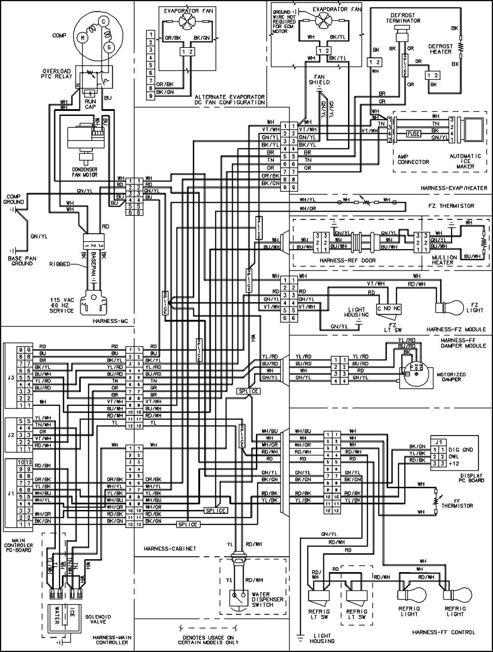 medium resolution of jenn air jenn air refrigeration wiring information series 10 parts