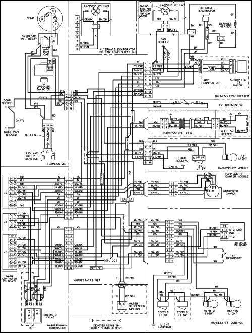 small resolution of jenn air jenn air refrigeration wiring information series 10 parts