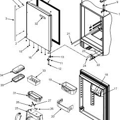 Jenn Air Refrigerator Parts Diagram 1997 Ford Explorer Audio Wiring Refrigeration Model Jbr2088hes