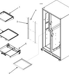 maytag mzd2666keb refrigerator shelves diagram [ 2012 x 1820 Pixel ]