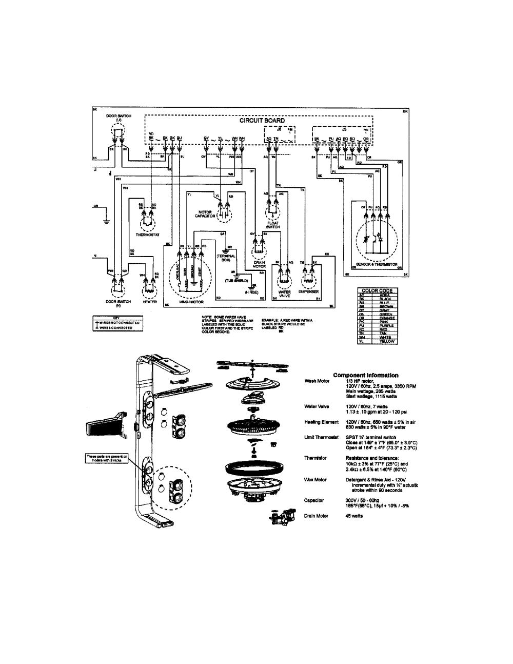 medium resolution of jenn air model jdb1100aws dishwasher genuine parts jenn air cooktop wiring diagram jenn air schematic pcb clock