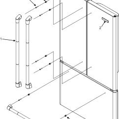 Jenn Air Refrigerator Parts Diagram Maintained Emergency Lighting Wiring Refrigeration Model Jfd2589kep