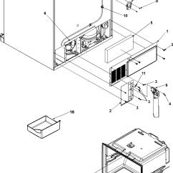 Amana Fridge Wiring Diagram Complete Parts E46 Refrigerator