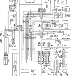looking for amana model aff2534feb1 bottom mount refrigerator repairamana aff2534feb1 wiring information diagram [ 1974 x 2611 Pixel ]