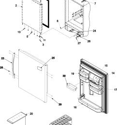 amana dishwasher diagram bottom along with amana refrigerator parts [ 2197 x 3043 Pixel ]