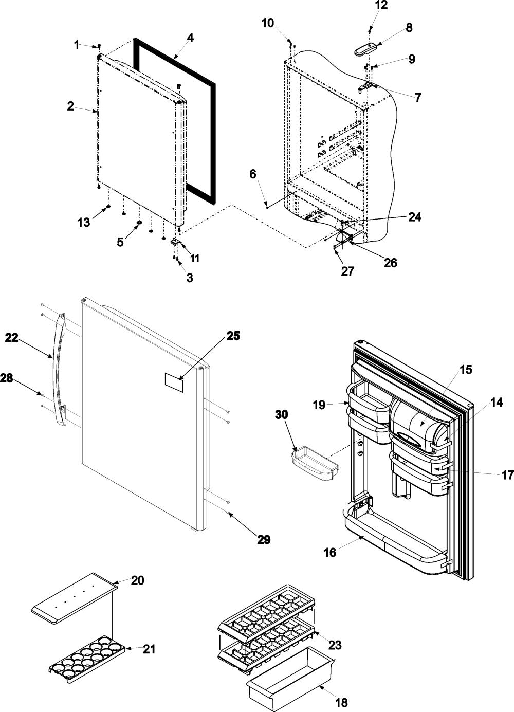 medium resolution of amana dishwasher diagram bottom along with amana refrigerator parts