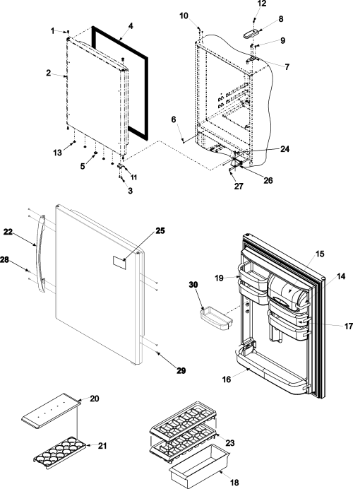 small resolution of amana dishwasher diagram bottom along with amana refrigerator parts