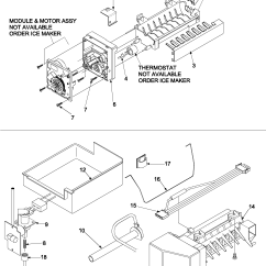 Amana Fridge Wiring Diagram Software Open Source Model Abc2037des Bottom Mount Refrigerator Genuine Parts