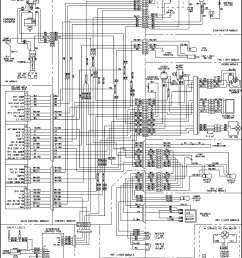 looking for maytag model mfi2568aeb bottom mount refrigerator repair wiring information diagram and parts list for maytag refrigerator [ 2217 x 2894 Pixel ]