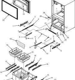 maytag refrigerator model number mfi2568aes [ 2193 x 2805 Pixel ]