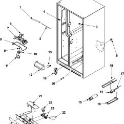 Scully Thermistor Wiring Diagram Siemens Micromaster 440 Amana Model Asd2325keq Refrigerator