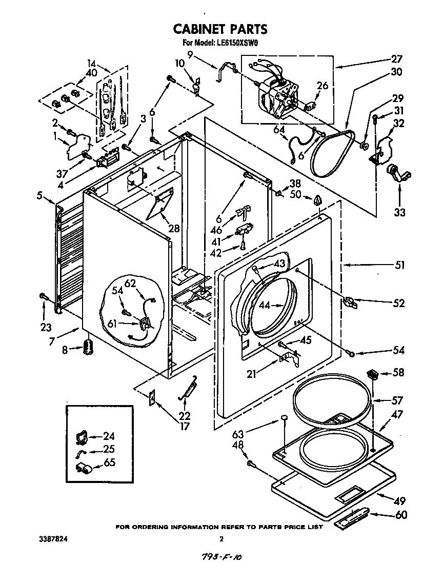Gas Dryer Parts Diagram Moreover Kenmore Gas Dryer Wiring Diagram