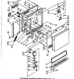 dishwasher parts diagram as well whirlpool dishwasher wiring diagram [ 864 x 1100 Pixel ]
