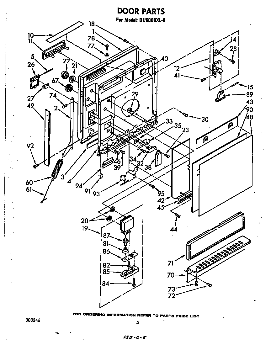hight resolution of dishwasher parts diagram as well whirlpool dishwasher wiring diagram