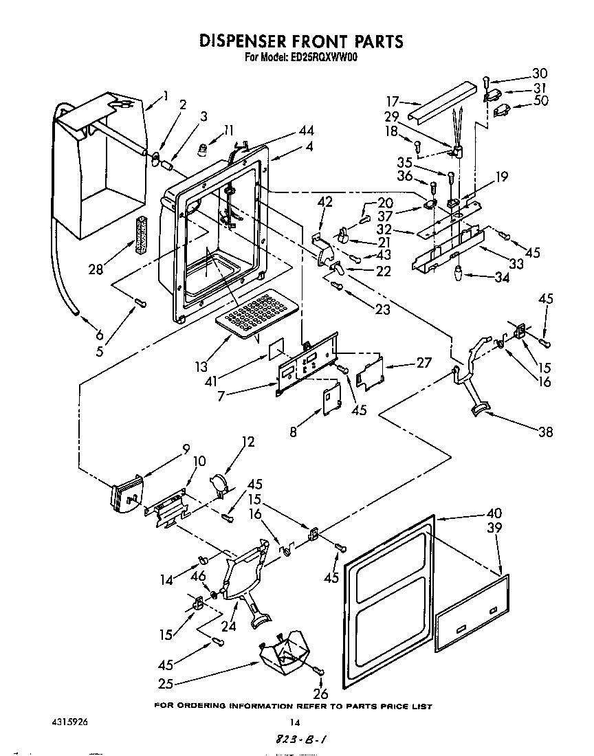 Whirlpool refrigerators parts model ed25rqxww00 sears partsdirect o2003283 00009 0165000html ge wiring diagrams fridge gts22jbpbrww