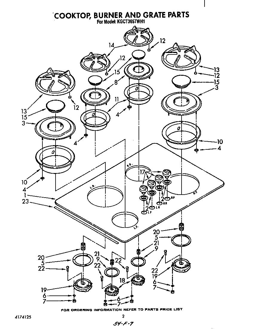 KITCHENAID Range (Gas) Spark module and wiring h Parts