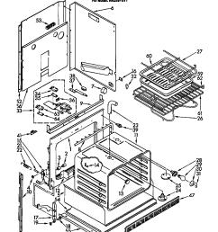 whirlpool electric range wiring schematic [ 864 x 1093 Pixel ]
