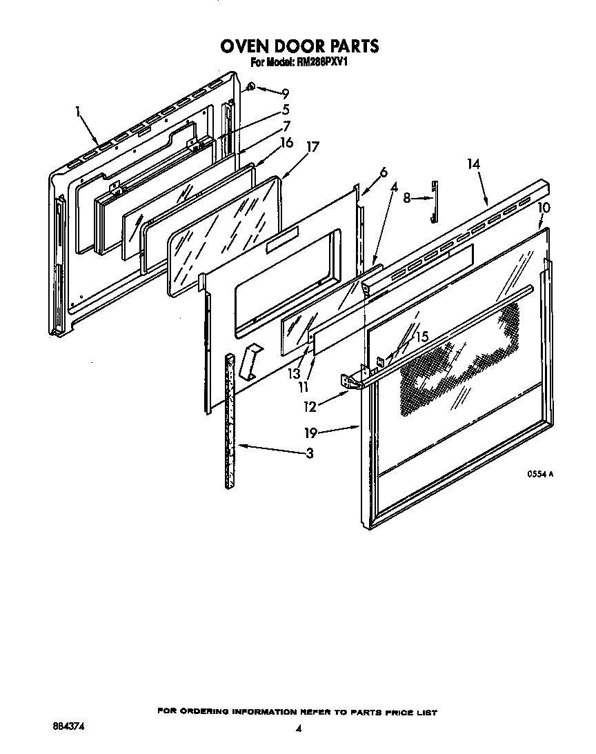 oven door schematic wiring diagram sortoven door schematic [ 864 x 1093 Pixel ]